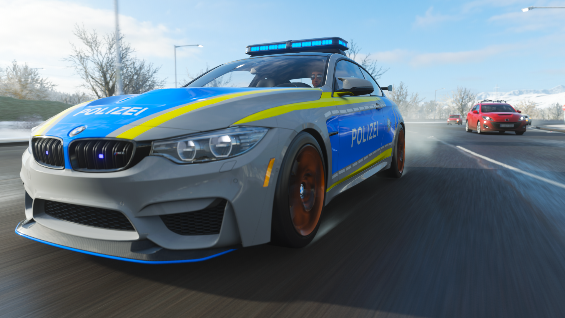 Look Out! Police! | Police-Cars in FH4 | Geekstyle Living